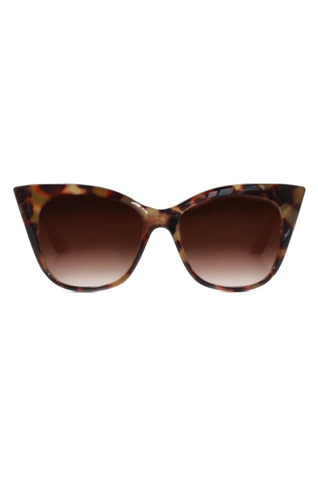 top Venice Sunglasses - Front Cropped Image