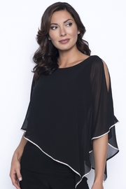 Frank Lyman Top with cape like overlay - Product Mini Image