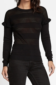 Current Air  Top with Mesh style stripes - Product Mini Image