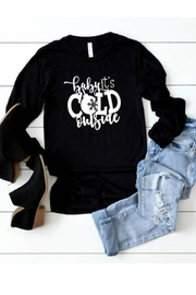 Top Crate Tees Baby It's Cold Tee - Product Mini Image