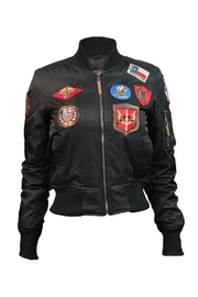 Top Gun Nylon Bomber Jacket - Product Mini Image