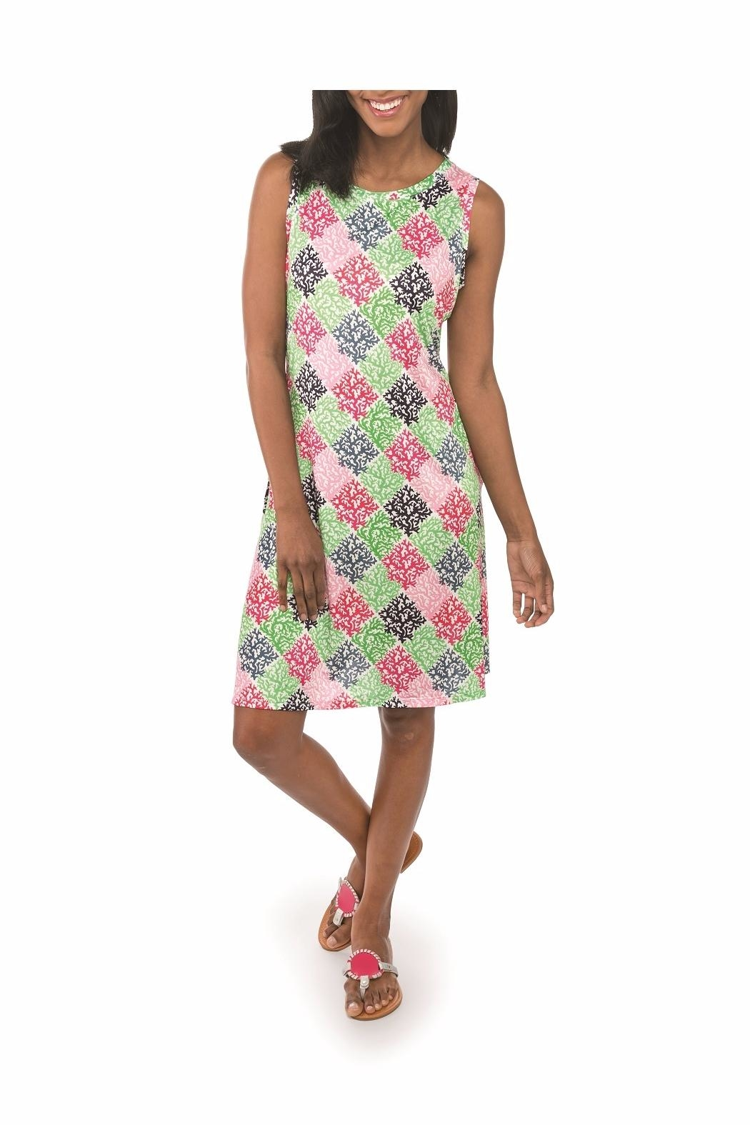 Top It Off Bella Patchwork Dress - Main Image