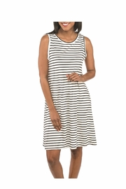 Top It Off Bella Striped Dress - Product Mini Image