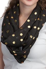 Top It Off Dot Infinity Scarf - Product Mini Image