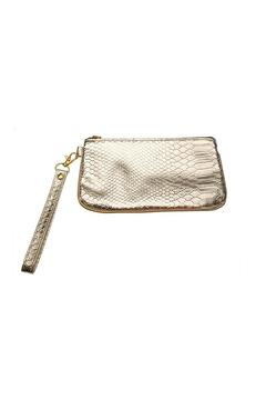 Top It Off Gold Metallic Wristlet - Product List Image