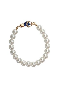 Top It Off Pearl Anchor Bracelet - Alternate List Image