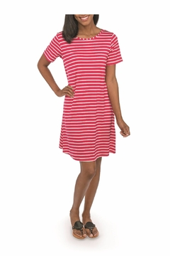 Shoptiques Product: Striped T-Shirt Dress
