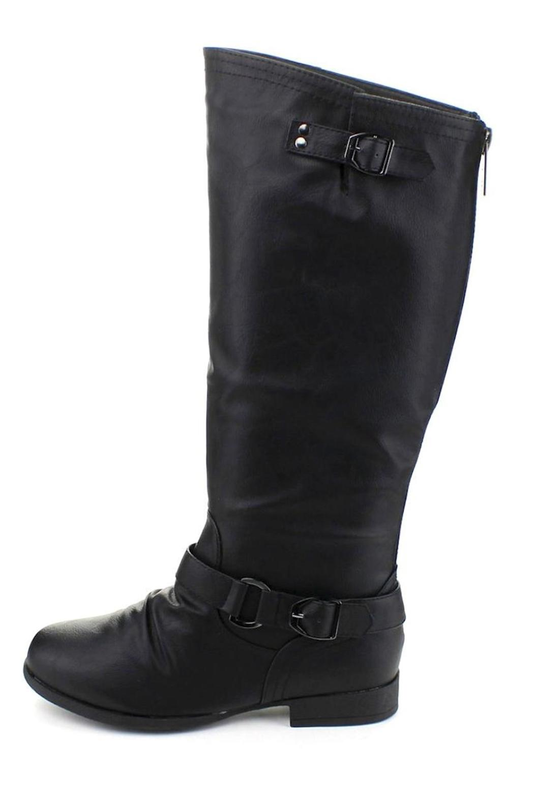 Top Moda Knee-High Riding Boots - Main Image