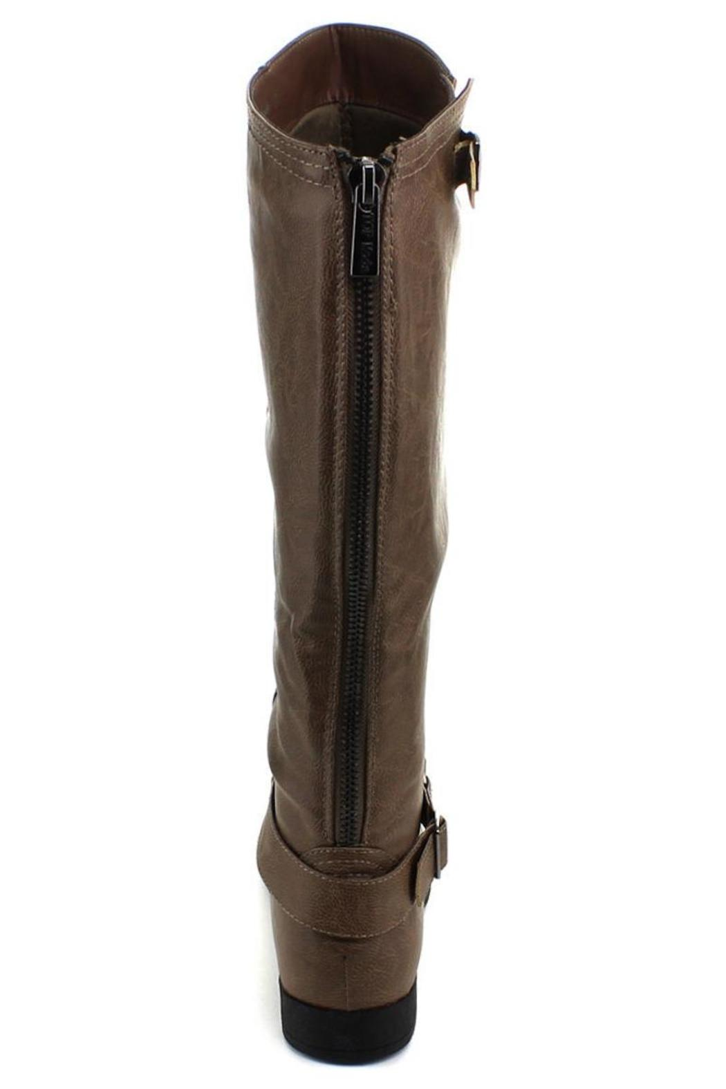 Top Moda Knee-High Riding Boots - Side Cropped Image