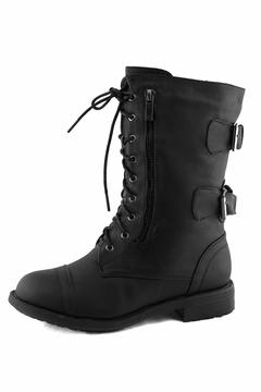 Top Moda Lace-Up Ankle Boots - Product List Image
