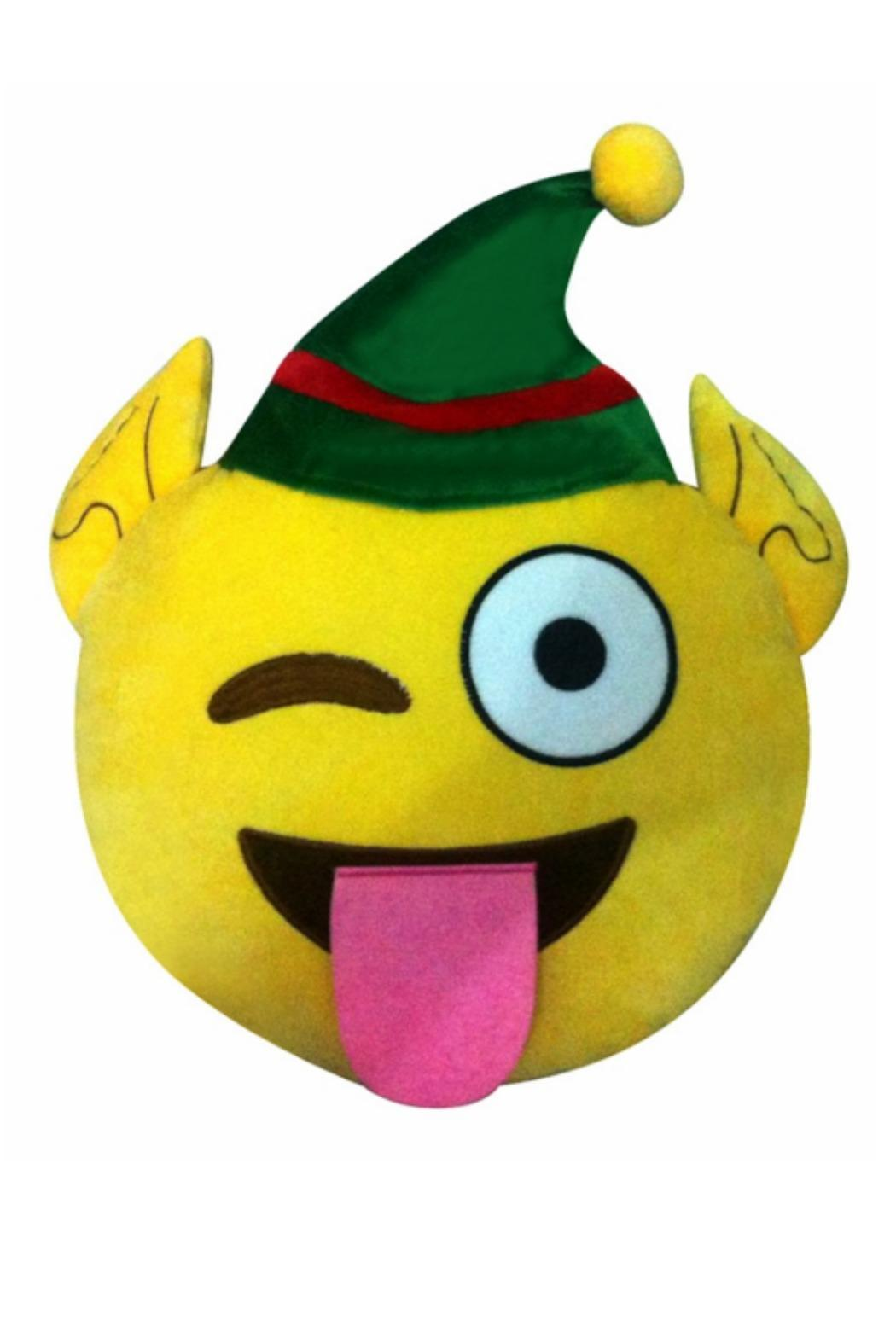 Top Trendz Elf Emoji Pillow From New Jersey By Gotham City