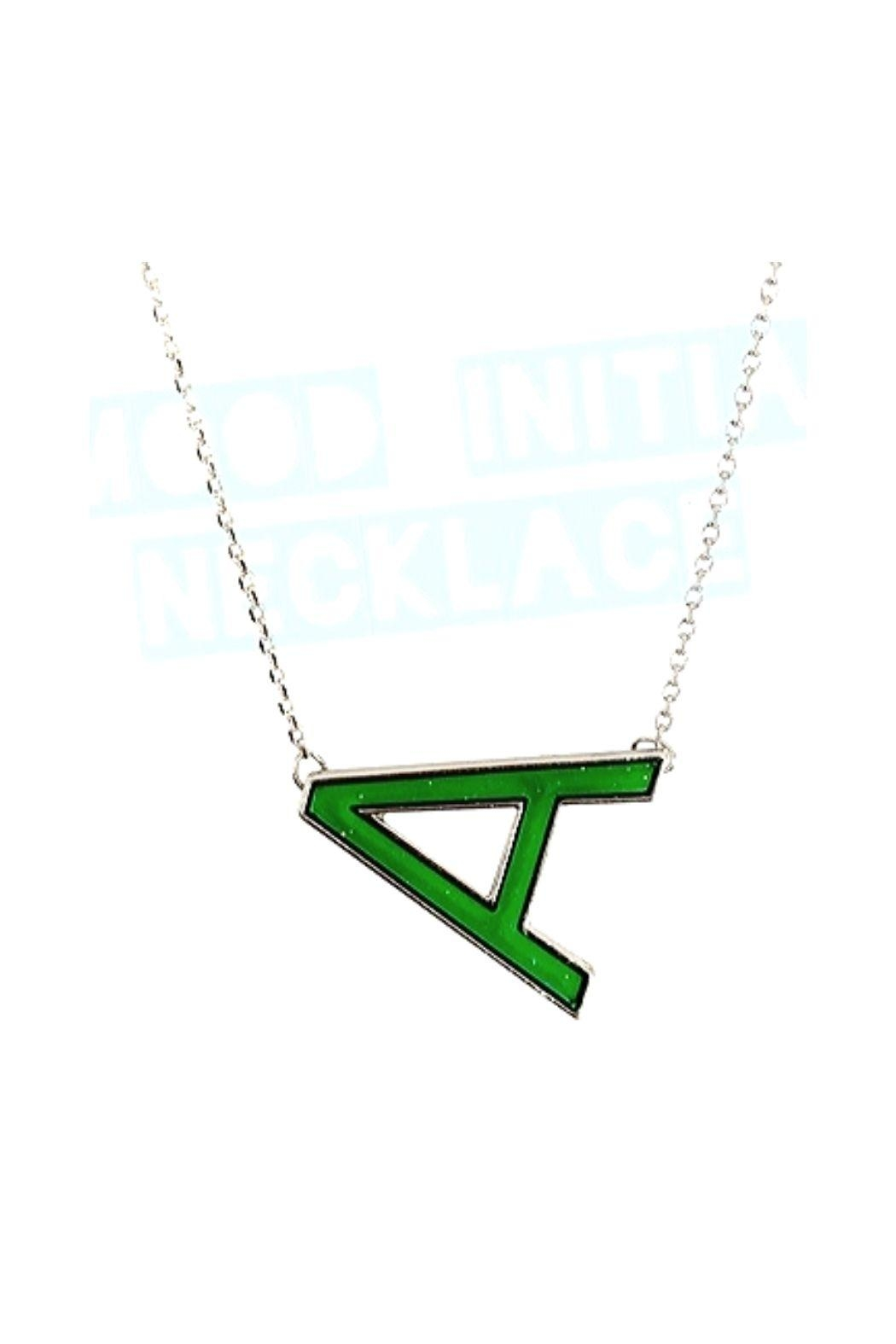 Top Trenz Initial Mood Changing Necklace - Main Image