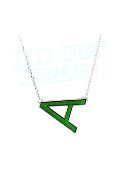 Top Trenz Initial Mood Changing Necklace - Product List Image