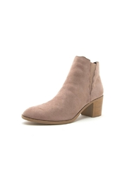 Qupid Topanga Bootie - Front cropped