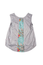 Appaman Topanga Unicorn Flower Tank Top - Front full body