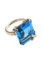 Malia Jewelry Topaz Silver Ring - Product Mini Image