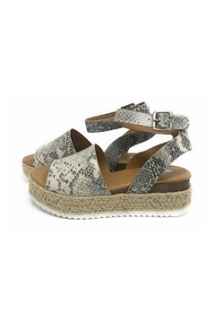Soda Topic Snake Espadrille - Product List Image