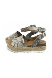Soda Topic Snake Espadrille - Front cropped
