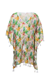 Snapper Rock Topicana Batwing Kaftan - Front cropped