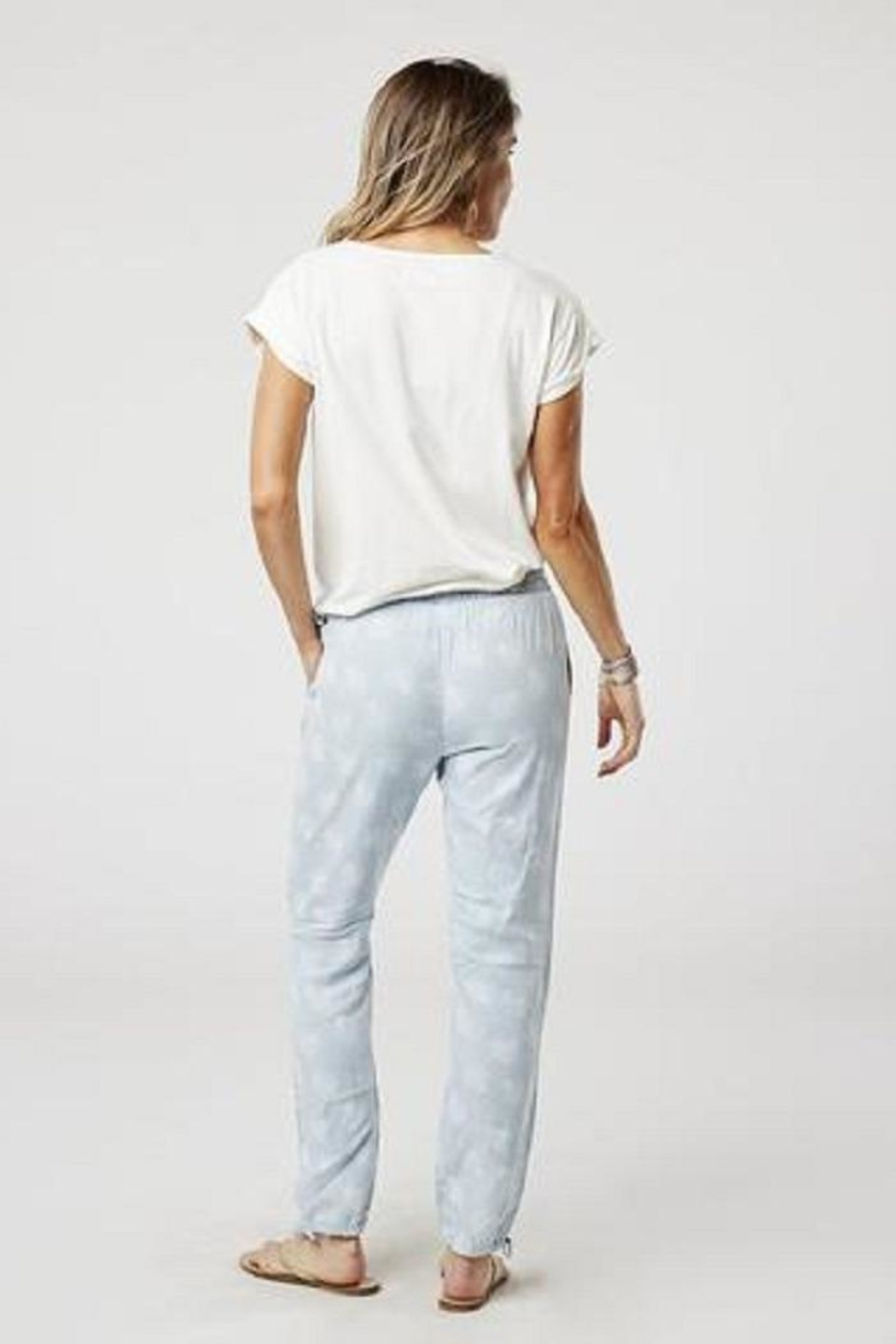 Carve Designs Tori Chambray Pant - Front Full Image