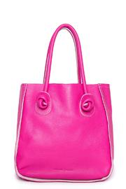 Torini Bags Pink Florencia Tote - Front cropped