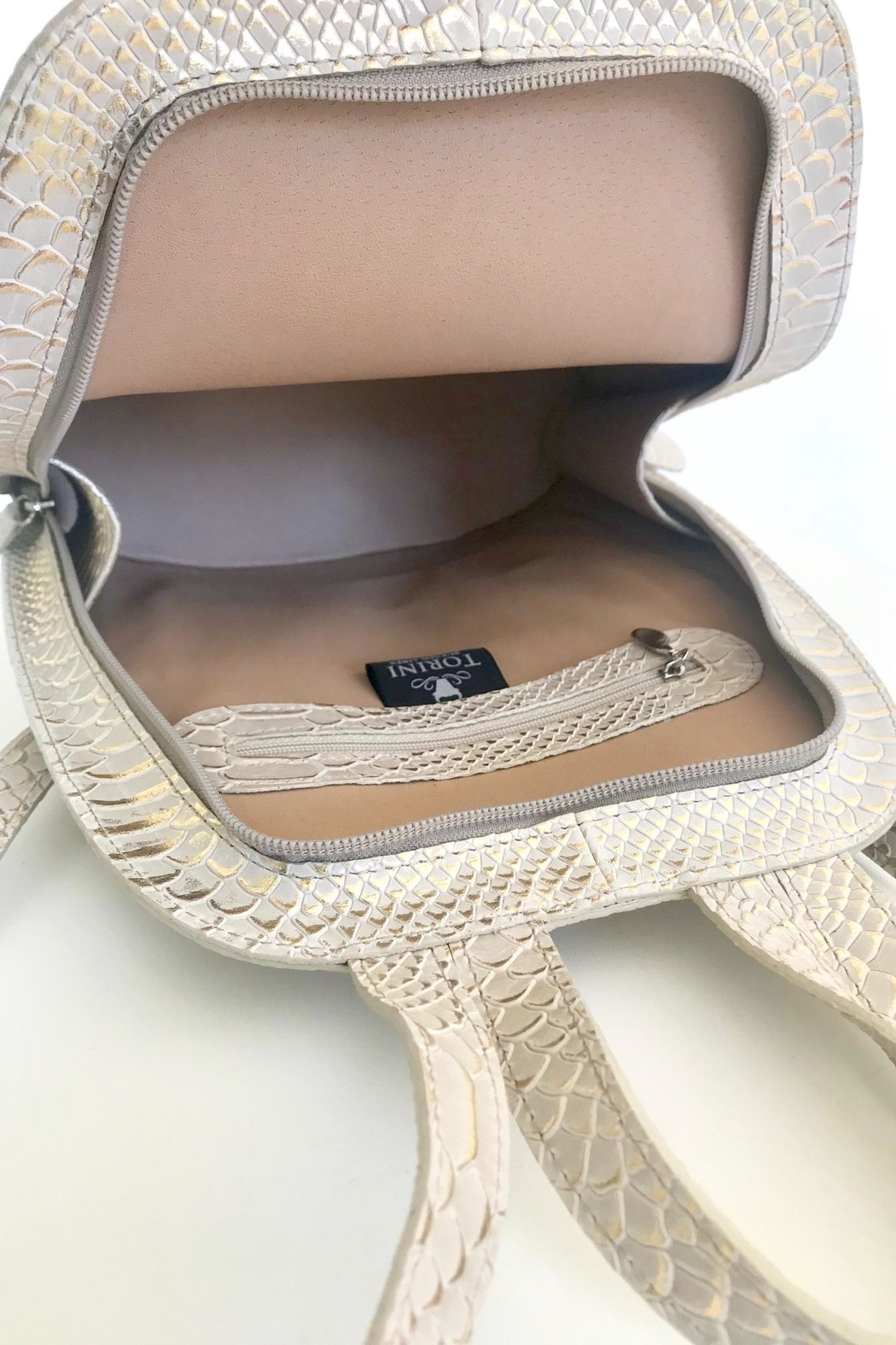 Torini Bags Python Backpack Nora - Side Cropped Image