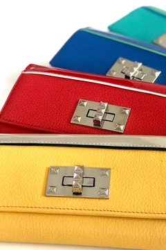 Shoptiques Product: Red Leather Wallet