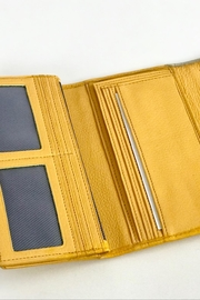 Torini Bags Yellow Leather Wallet - Other