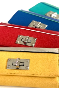 Shoptiques Product: Yellow Leather Wallet