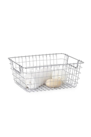 Torre & Tagus Chrome Wire Basket - Product Mini Image