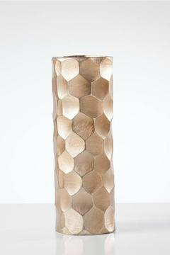Torre & Tagus Gold Chiseled Vase - Product List Image