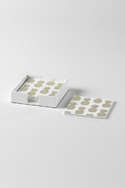 Torre & Tagus Pineapple Coasters - Product Mini Image