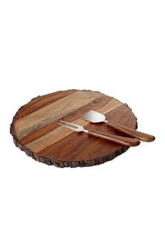 Torre & Tagus Sienna Wood Cheeseboard - Alternate List Image