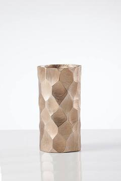 Torre & Tagus Gold Chiseled Vase - Alternate List Image