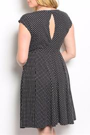Torrid Black Polkadot Plus - Side cropped