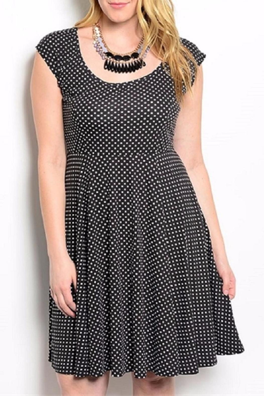 Torrid Black Polkadot Plus - Main Image