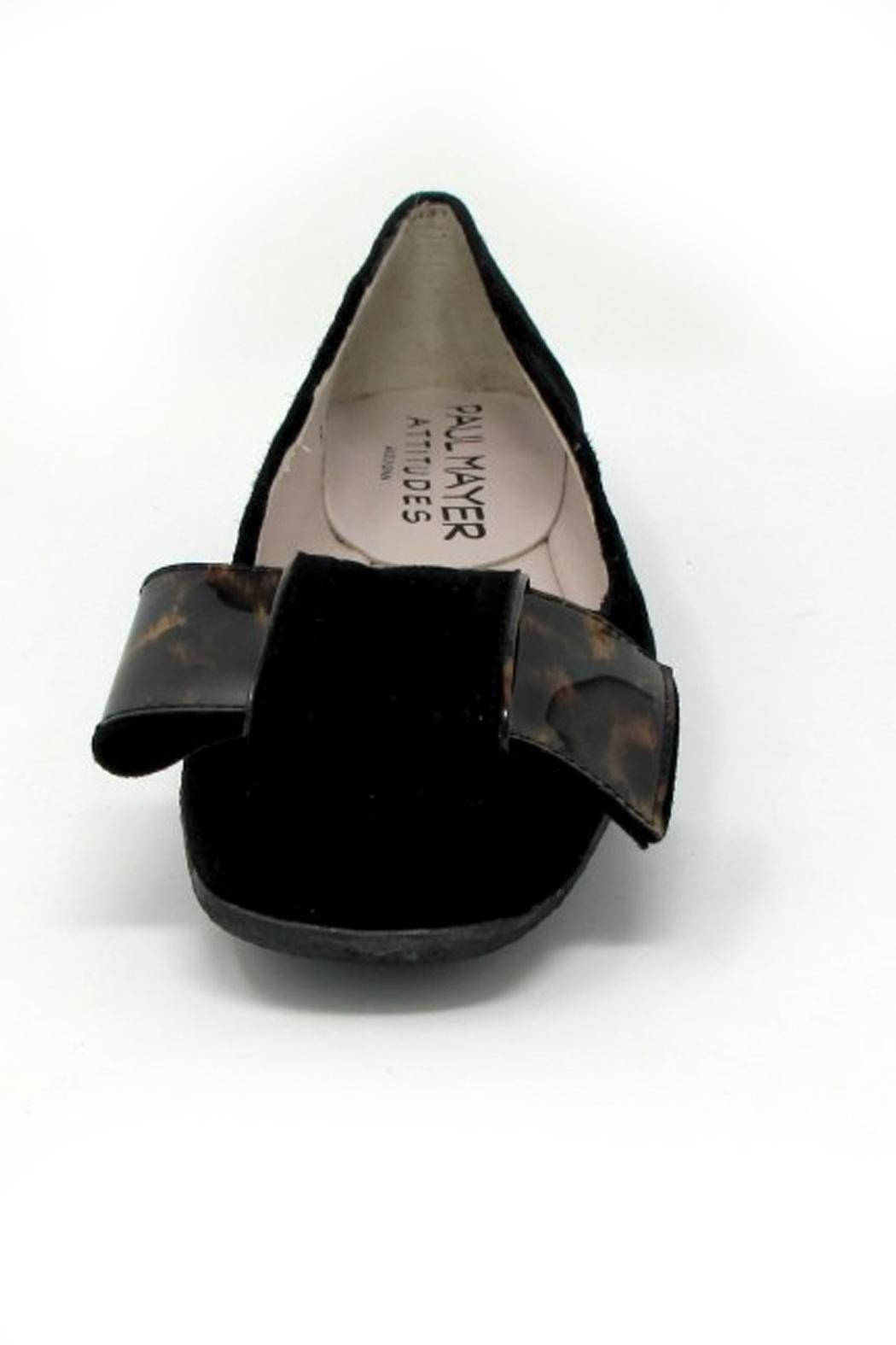 Paul Mayer Tortoise Bow Flats - Side Cropped Image