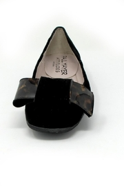 Paul Mayer Tortoise Bow Flats - Side cropped