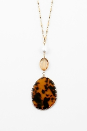 Embellish Tortoise Pendant Necklace - Product Mini Image