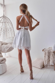 Two Sisters Tory Lace Dress - Front full body