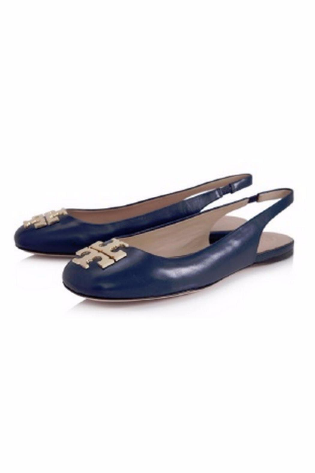 Tory Burch Classic Slingback Flats - Side Cropped Image