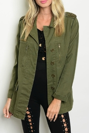 Toska Olive Utility Jacket - Product Mini Image