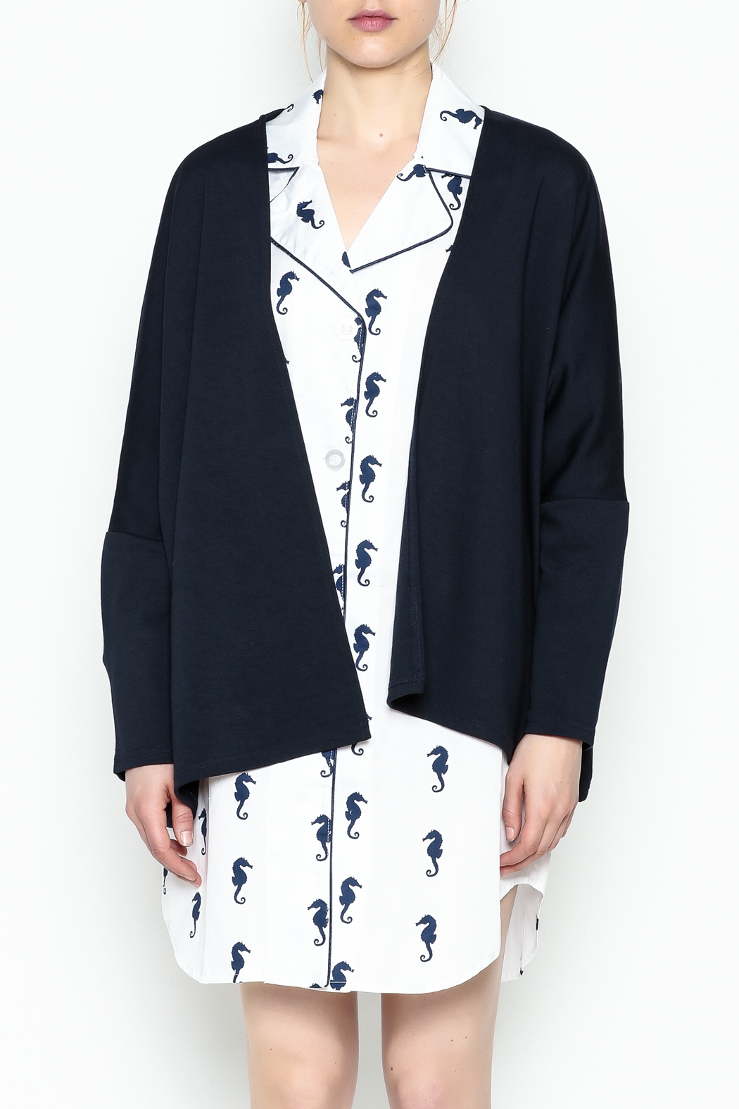 Toss Designs Anchor Cardigan - Front Full Image