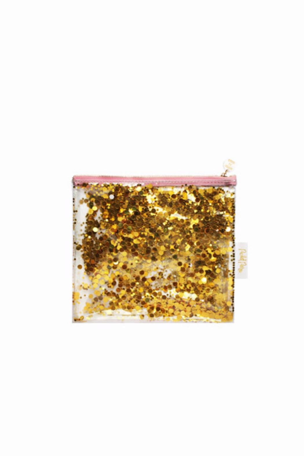 Toss Gold Confetti Pouch - Main Image