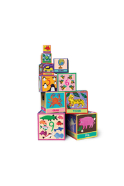 Eeboo Tot Tower: First Words - Product Mini Image
