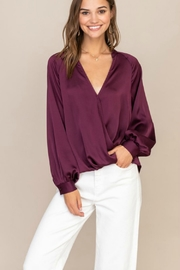 Lush  TOTAL BABE BLOUSE - Front cropped