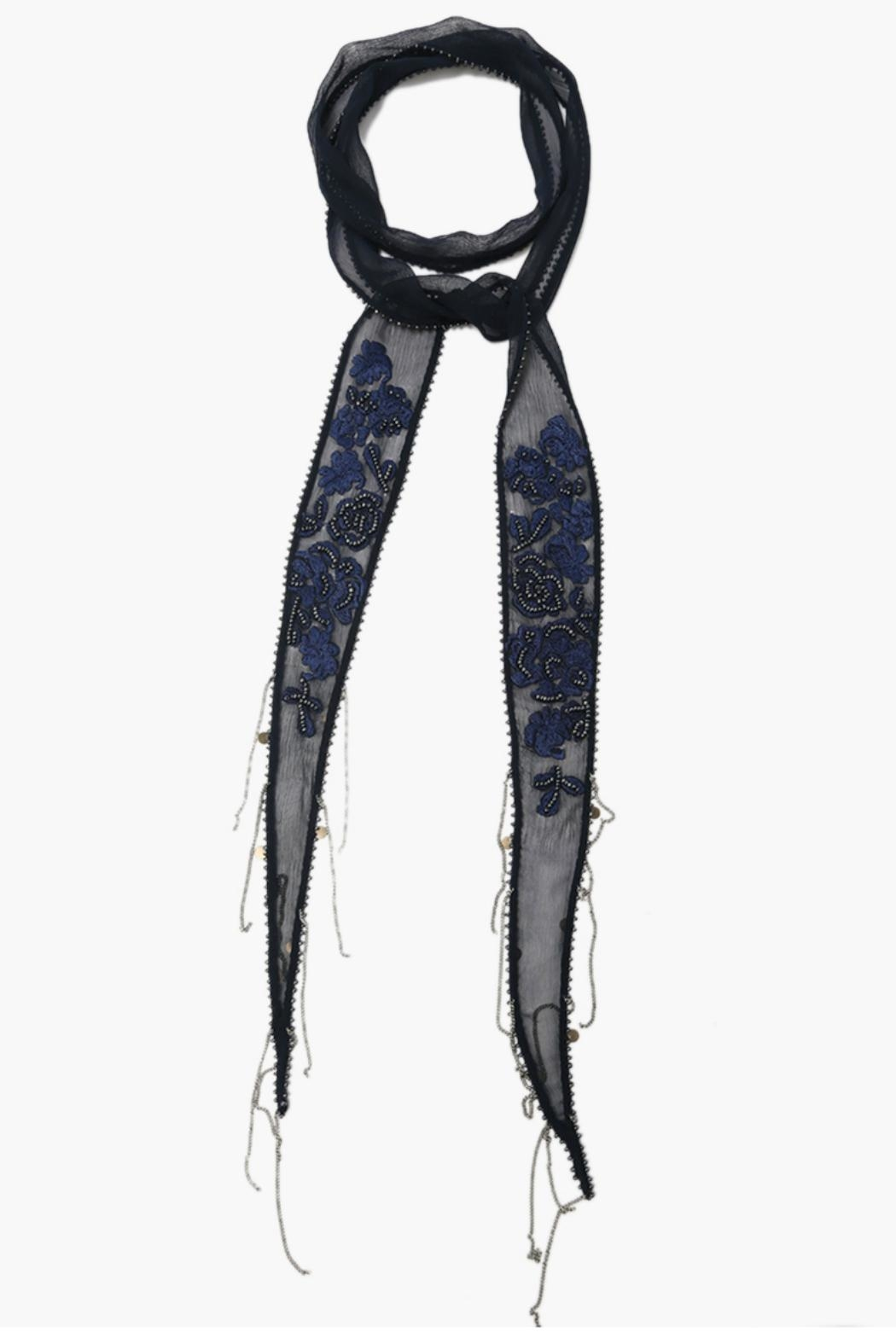 Chan Luu Total Eclipse Necktie - Front Cropped Image