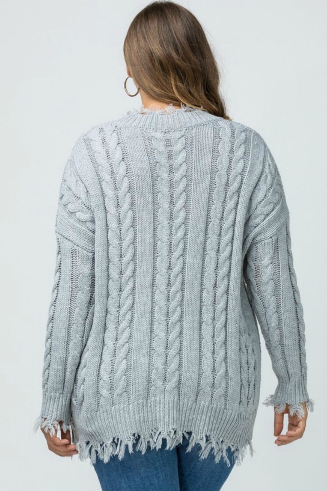 Entro TOTALLY 90'S SWEATER - Side Cropped Image
