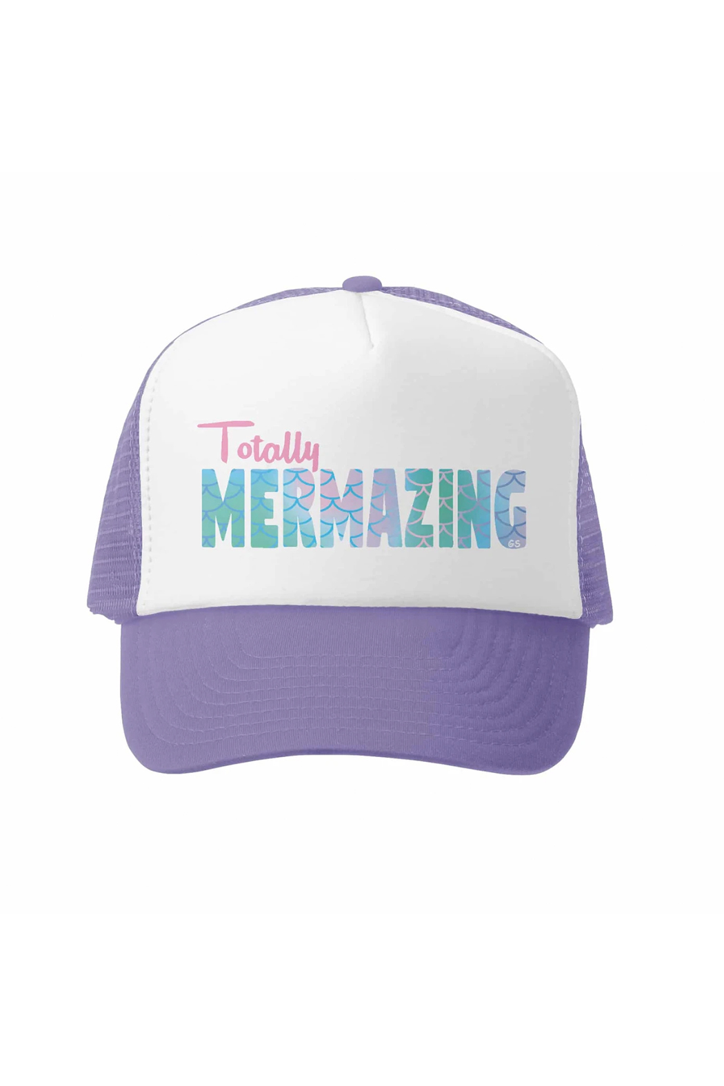 Grom Squad Totally Mermazing Trucker Hat - Front Cropped Image