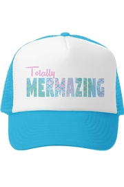 Grom Squad Totally Mermazing Trucker Hat - Front cropped